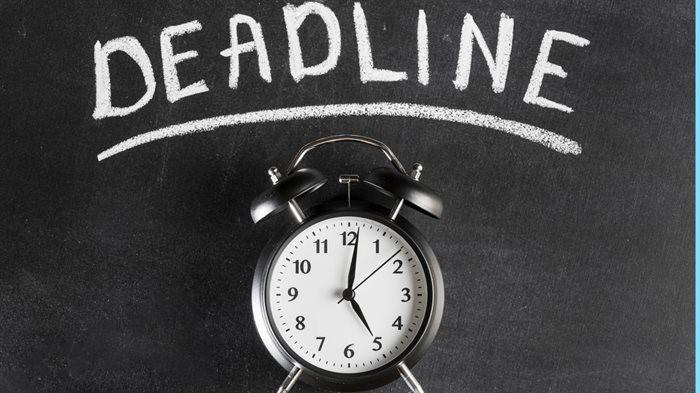 Missed deadline
