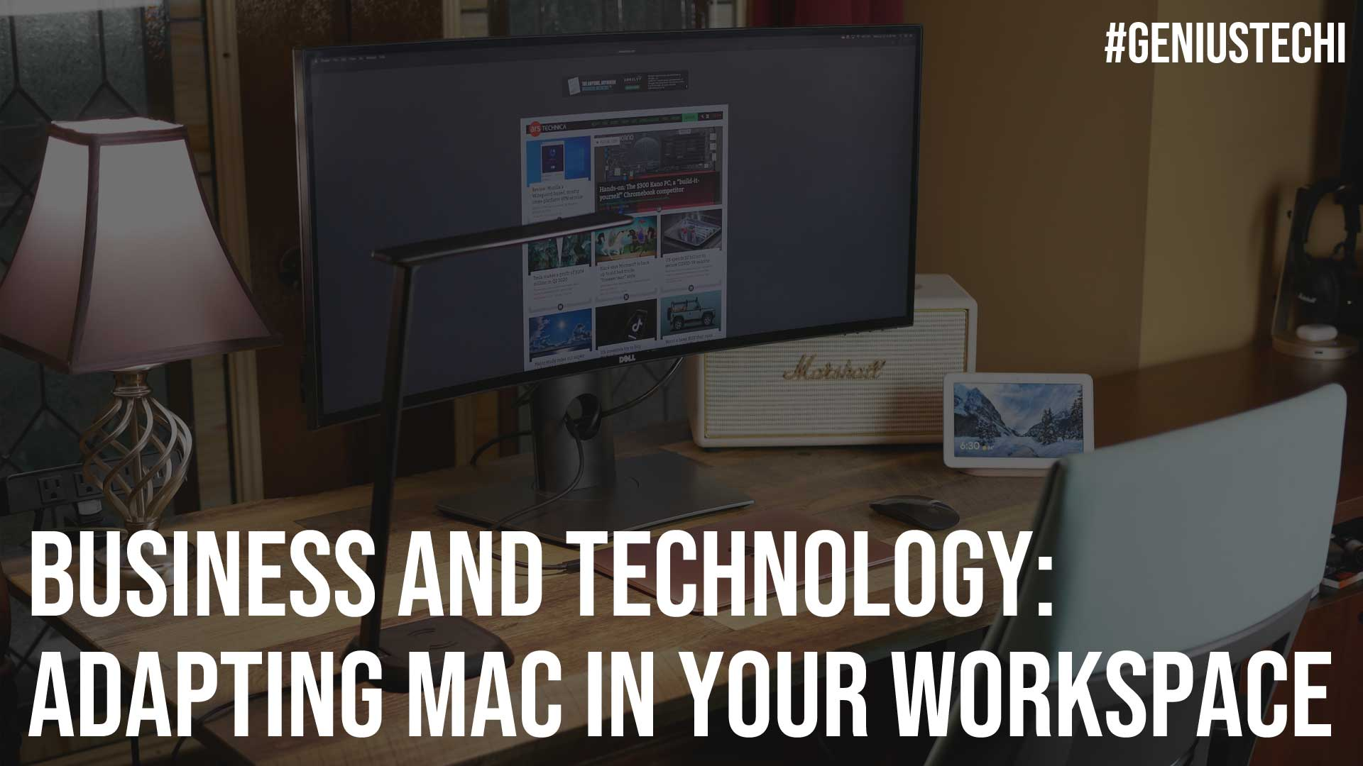 Business and Technology Adapting Mac In Your Workspace