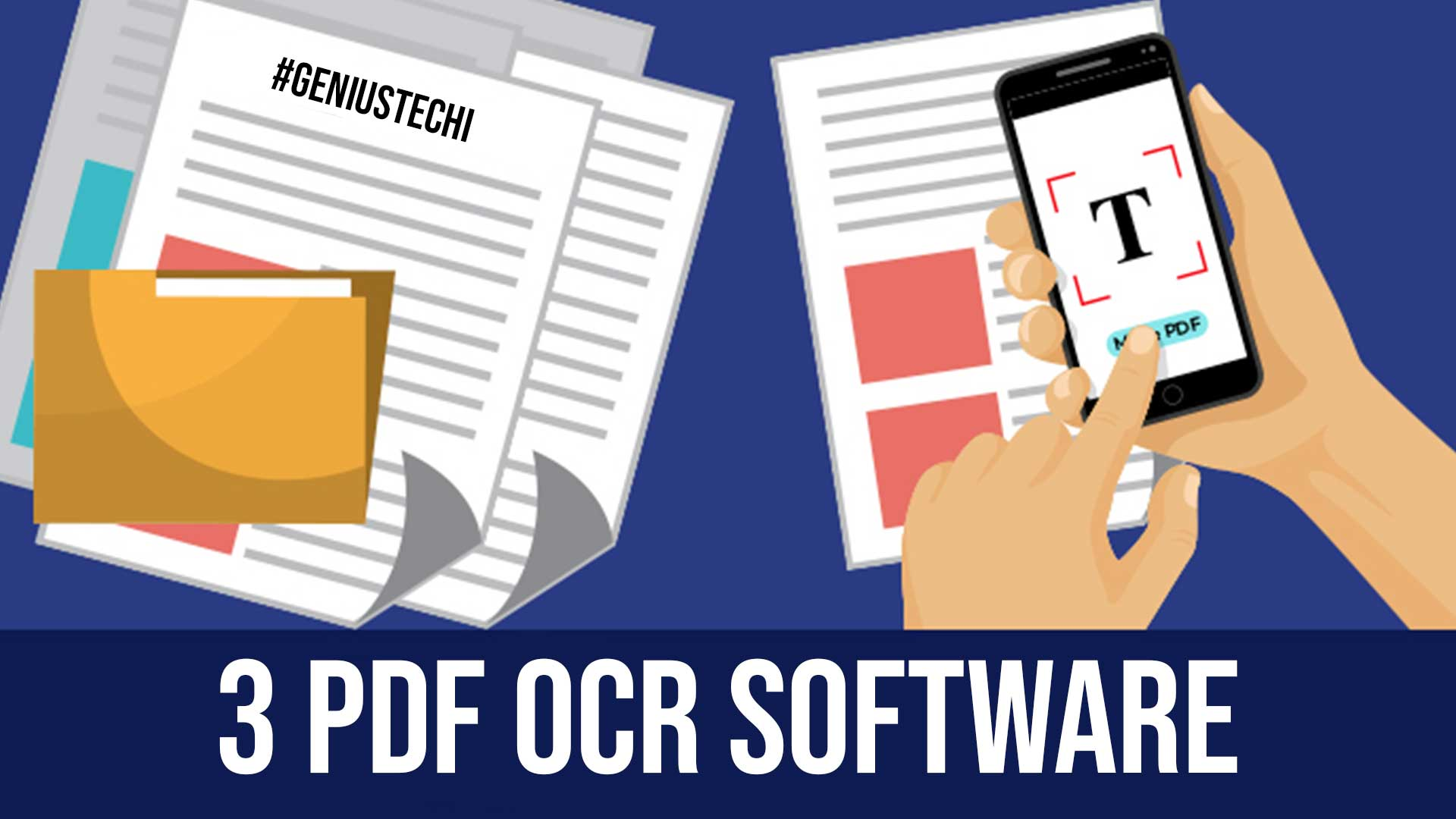3 PDF OCR software